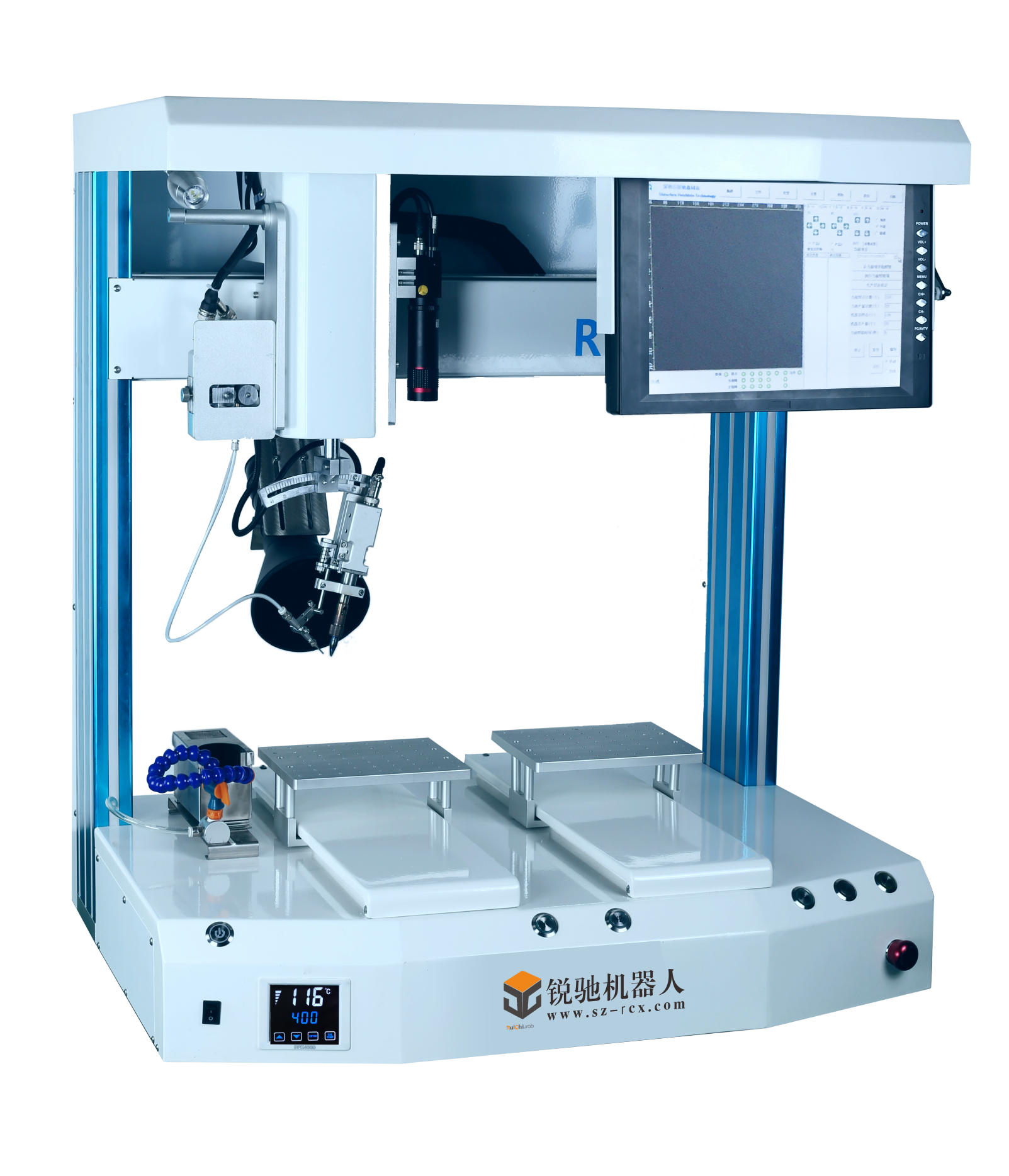 Automatic tin soldering machine instead of tra