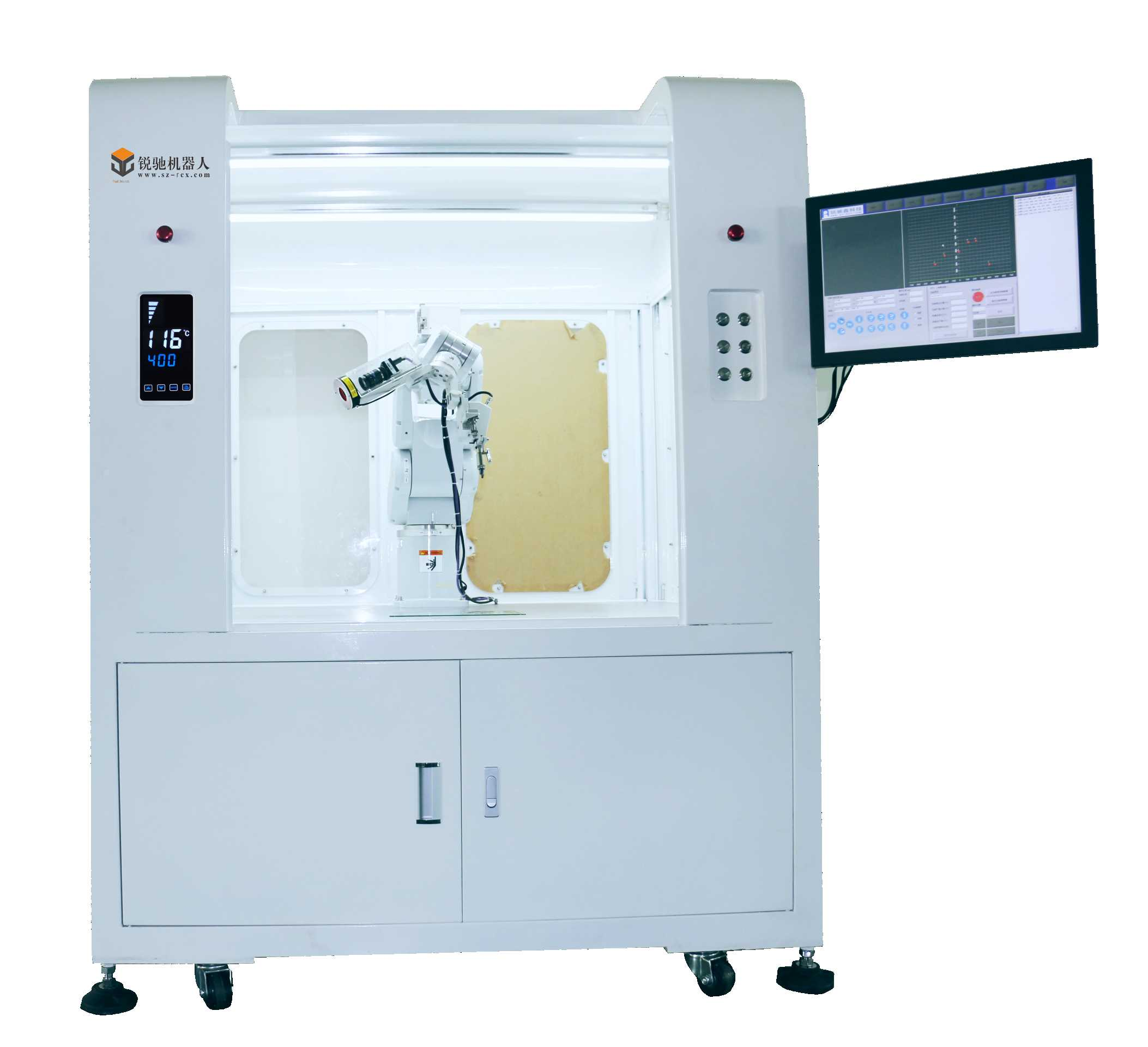 R600MA mechanical arm solder machine