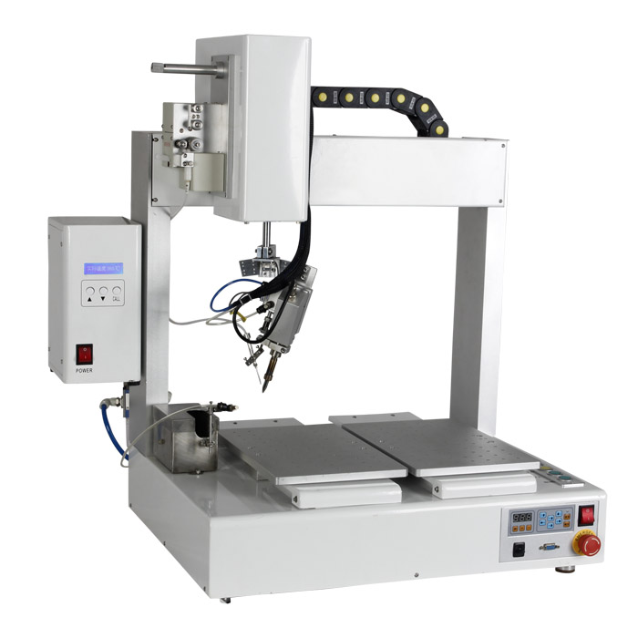 RE401D double station solder machine