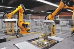 Automatic stacking machine